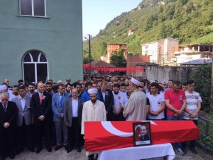 Trabzonlu Darbe Şehidine Son Görev