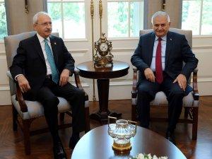 Başbakan Yıldırım Ve Kılıçdaroğlu Birlikte Açıklama Yapacak