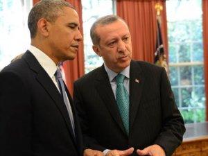 Cumhurbaşkanı Erdoğan ve ABD Başkanı Obama Görüştü