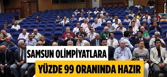 Samsun Türkiye 'İşitme Engelliler Olimpiyatları'na Hazır