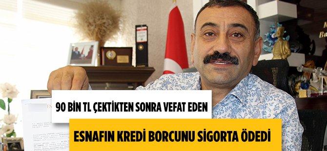 """Samsun'da Atakum Esnaf  ve Sanatkarlar Kredi ve Kefalet Kooperatifi Başkanı Sinecek:  """"Esnafın 540 TL'lik Sigortası Ailesini Borçtan Kurtardı"""""""