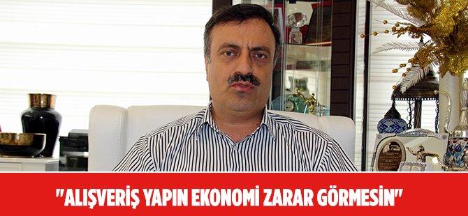 Samsun Tuhafiyeciler Odası Başkanı Ahmet Akbaş, Alışveriş Yapma Çağrısında Bulundu