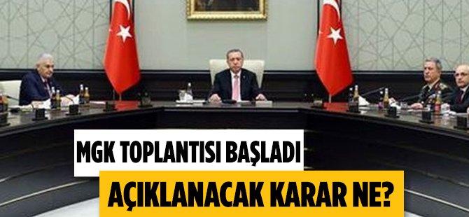 MGK Toplantısı Ankara Başladı Hangi Kararlar Çıkacak?
