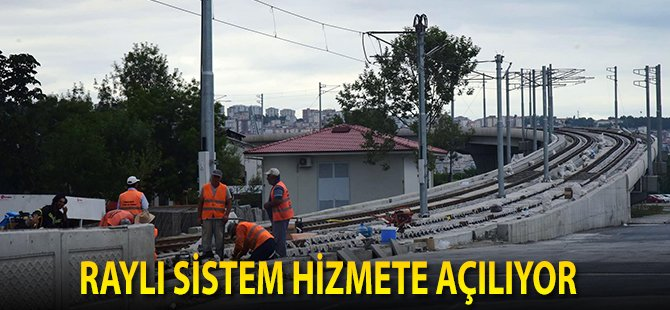 """Samsun Büyükşehir Belediye Başkanı Yılmaz; """"Gar-Tekkeköy Hattının İlk Ayağı Ağustosta Hizmete Açılacak"""""""