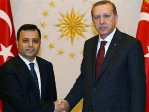 Cumhurbaşkanı Erdoğan, AYM Başkanı Arslan'la Görüştü