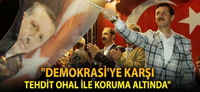 """Samsun'un İlkadım İlçe Belediye Başkanı Tok; """"OHAL, Türkiye'nin Önündeki Tehditleri Kaldıracaktır"""""""
