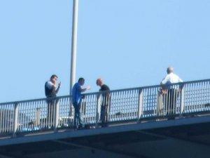 Boğaziçi Köprüsü'nde Albayın İntihar Girişimi