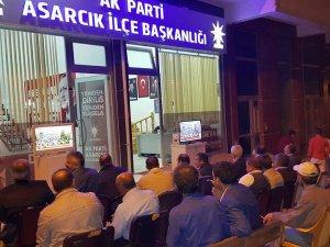 Samsun Asarcık'ta Demokrasi Mücadelesine Dualı Destek