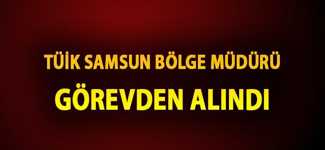 Samsun TÜİK Bölge Müdürü Harun Çiçek Görevden Alındı
