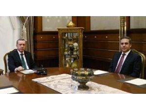 Erdoğan MİT Müsteşarı Fidan İle Görüşüyor