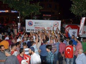 Samsunlular Bursa'da Demokrasi Şehitleri İçin Mevlit Okutuldu