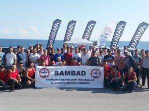 Samsun'da Balık Tutma Yarışması