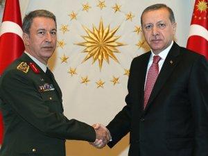 Cumhurbaşkanı Erdoğan Hulusi Akar'ı Kabul Edecek