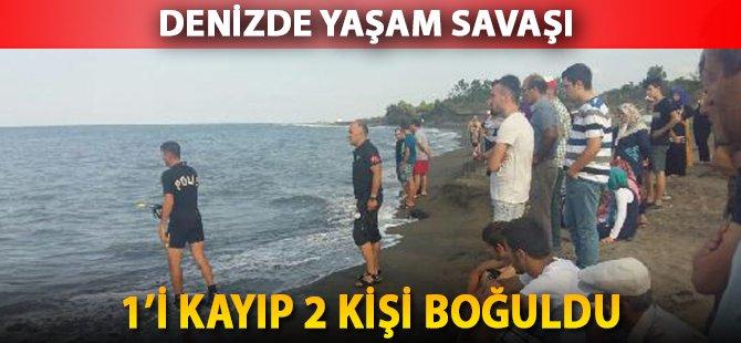 Samsun'da Deniz Can Aldı, 1'i Kayıp 2 Kişi Hayatını Kaybetti
