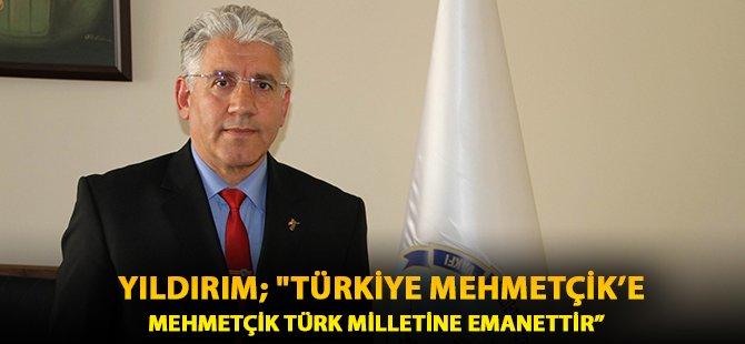 """TSK  Mehmetçik Vakfı Samsun Temsilcisi Yıldırım;  """"Türkiye Mehmetçik'e Mehmetçik Türk Milletine Emanettir"""""""