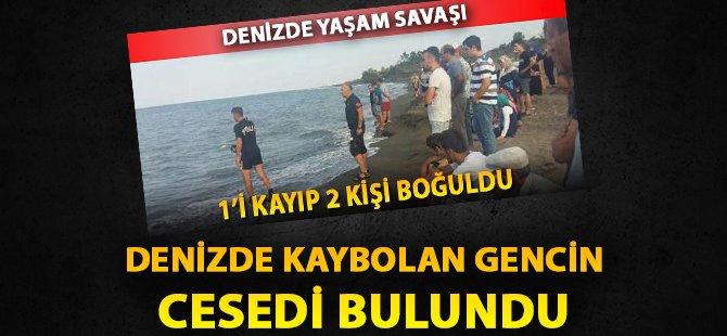 Samsun'da Denizde Kaybolan Gencin Cesedi Bulundu