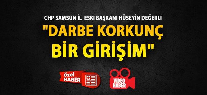 Samsun'daki Darbe Mağdurlarından Hüseyin Değerli 1980 Darbesinde Yaşadıklarını Anlattı
