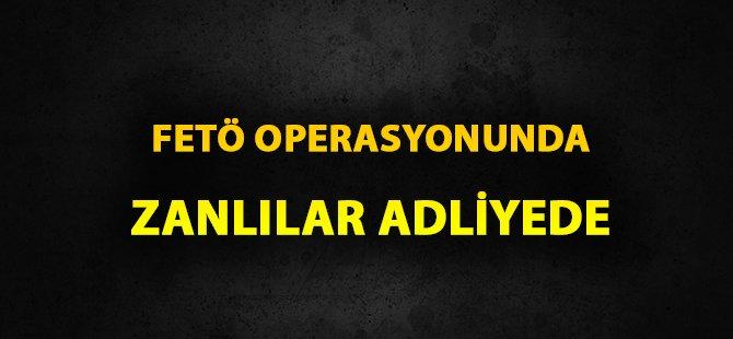 Samsun'daki FETÖ-PDY Terör Operasyonunda 4 Kişi Adliyede