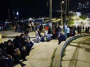 Şili'de Tsunami Uyarısı