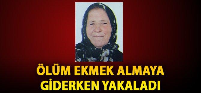 Samsun'da Yaşlı Kadın Ekmek Almaya Giderken Hayatını Kaybetti