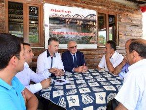 Samsun Büyükşehir Belediye Başkanı Yusuf Ziya Yılmaz: ''Böylesi Avrupa'nın Köylerinde Bile Yok''