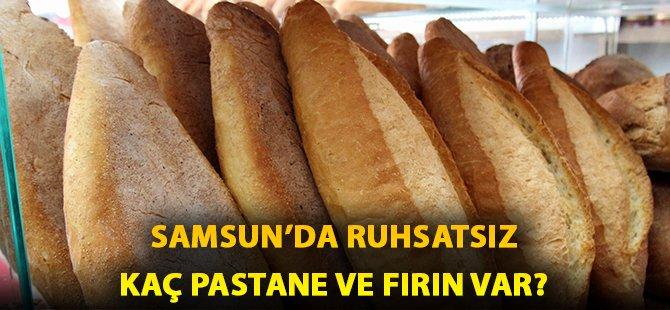 Samsun'da Ruhsatsız Üretim Yapan 15 Pastane Ve 10 Sığınmacı Fırını Belirlendi