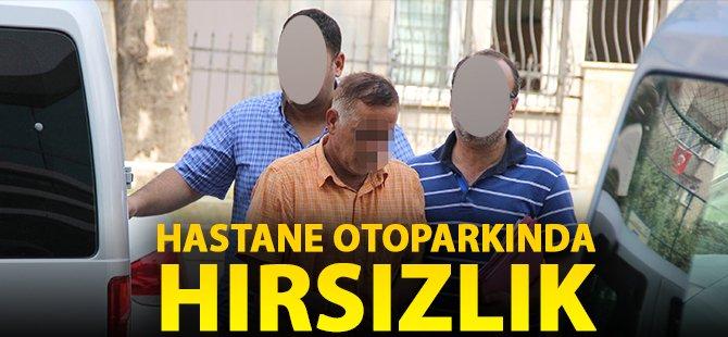 Samsun'da Hastane Otoparkında Hırsızlık Yaptığı İddia Edilen Şahıs Adiliyeye Sevk Edildi