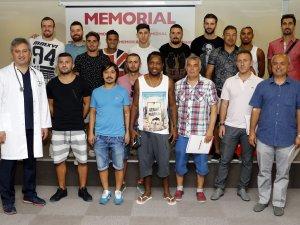 Memorial, Antalyaspor'un Sağlık Sponsoru Oldu