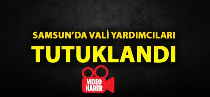 Samsun'da Vali Yardımcıları Metin Borazan İle Mehmet Ali Yıldırım, Tutuklandı
