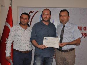 Samsun Terme'de Genç Girişimciler Belgelerini Aldı