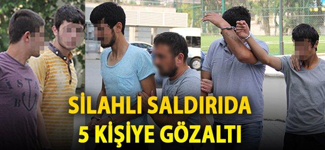 Samsun'da Bir Kişiye Silahlı Saldırı Düzenleyen 5 Kişi Gözaltına Alındı