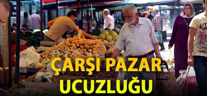 Samsun'da Vatandaş Pazar Fiyatlarından Memnun