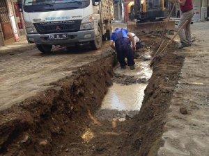 Giresun'da 40 Yıllık Su Hattı Yenileniyor