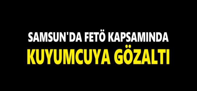 Samsun'da FETÖ Kapsamında 2 Kişi Gözaltına Alındı