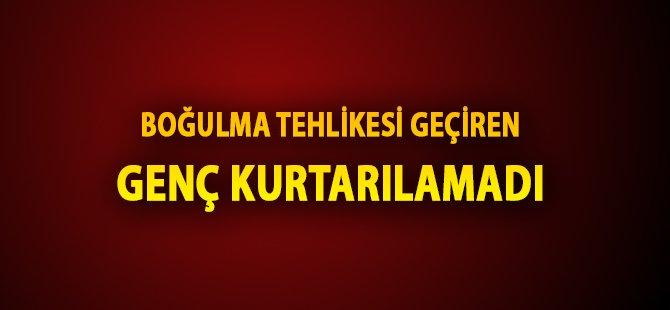 Samsun'da Boğulma Tehlikesi Geçiren Genç Kurtarılamadı