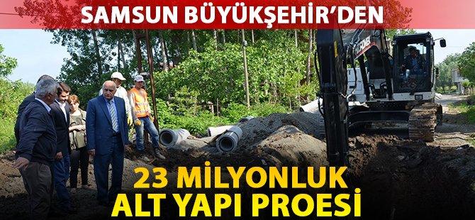 Samsun Büyükşehir'den Yakakent'e 23 Milyon Liralık Proje