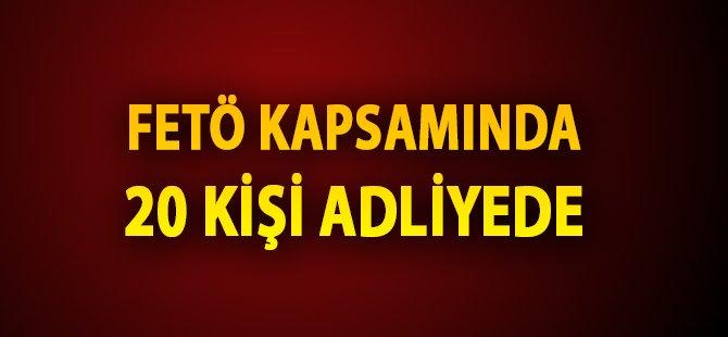 Samsun'da FETÖ Kapsamında 20 Öğretmen Adliyeye Sevk Edildi