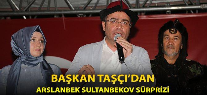 Samsun'un Atakum İlçe Belediye Başkanı Taşçı'dan Arslanbek Sultanbekov Sürprizi