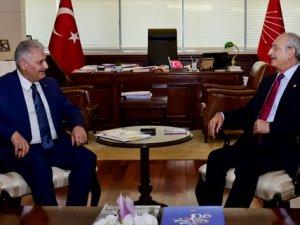 Başbakan Yıldırım, CHP Genel Merkezi'nde