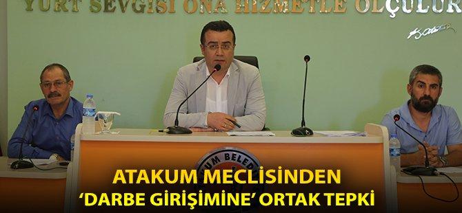 """Samsun'un Atakum İlçe Belediye Başkanı Taşçı; """"Bütün Hainlere, 15 Temmuz Gecesi Ders Olsun"""""""