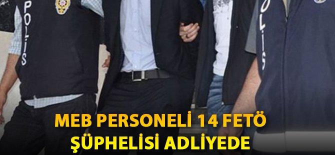 Samsun'da MEB Personeli 14 FETÖ Şüphelisi Adliyede