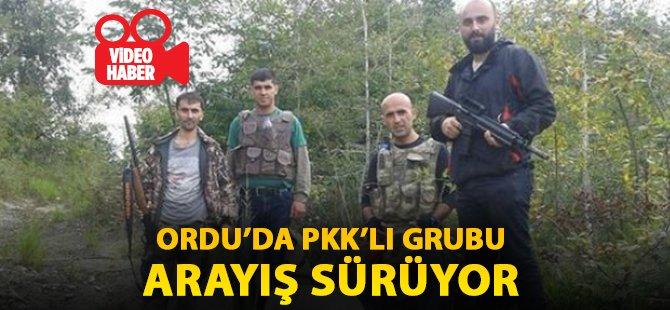 Ordu'da PKK'lı Grup Her Yerde Aranıyor