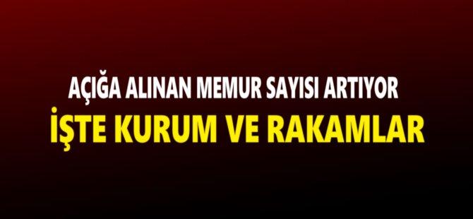 Samsun'da FETÖ Soruşturmasında Açığa Alınan Memur Sayısı 1268 Oldu