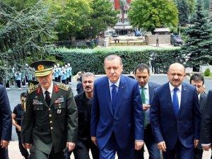 Cumhurbaşkanı Erdoğan, Genelkurmay'da