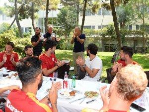 Galatasaray'da 'Tafo'ya Veda