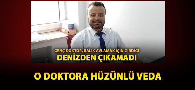 Samsun'da Deniz'de Boğulan Doktor'a Hüzünlü Veda