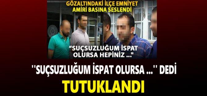 Samsun'da FETÖ/PDY Soruşturmasında Gözaltına Alınan Emniyet Amiri Ve Başkomiser Adliyeye Sevk Edildi