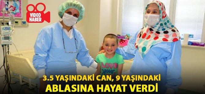 Samsun'da 3.5 Yaşındaki Can, 9 Yaşındaki Ablasına Hayat Verdi