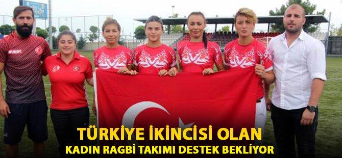 Samsun'da Türkiye İkincisi Olan Kadın Ragbi Takımı Destek Bekliyor