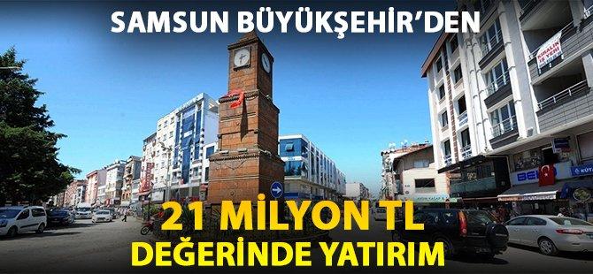 Samsun Büyükşehir Belediyesi'nden Termeye 21 Milyon TL Yatırım